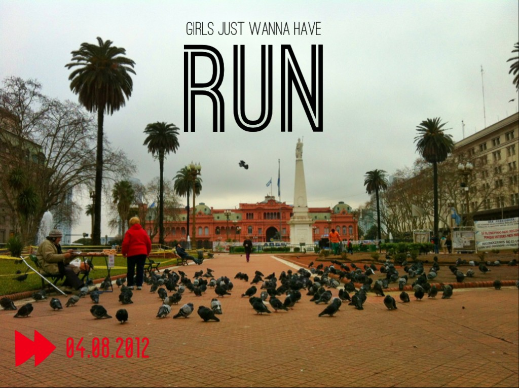 Girls just wanna have run